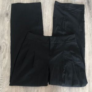 Banana republic 0 wide leg high waisted trouser